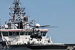 Turva Lippujuhlan päivän 2017 laivastoesittely 9 Super Puma H215 OH-HVQ.JPG