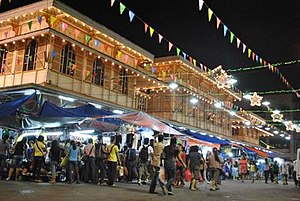 Divisoria - The Tutuban Centermall which is located inside the vicinity of Divisoria