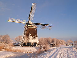 Windmill in Sint Pancras