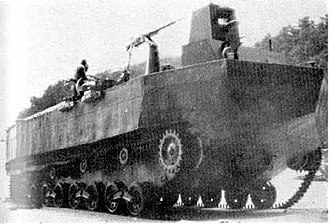 Type 4 Ka-Tsu - Type 4 Ka-Tsu with machine guns mounted