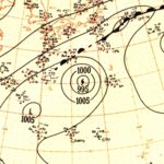 Typhoon Thelma analysis 29 Oct 1951.png
