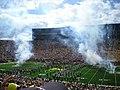 UConn vs. Michigan 2010 08 (Michigan Stadium rededication).JPG