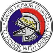 USAF Base Honor Guard shield