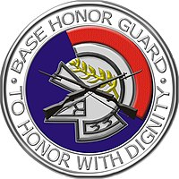 USAF Base Honor Guard Badge