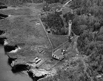 Devils Island Light - Image: USC Gdevilsisland Contemp