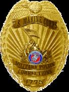USMC MP Corrections Badge