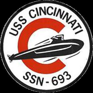USS Cincinnati (SSN-693) - Image: USS Cincinnati SSN 693