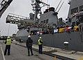 USS Donald Cook arrives in Rota, Spain. (12458234383).jpg