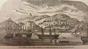 USS Essex (1799) - Image: USS Essex I