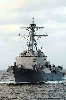 USS Sampson 2009