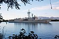 US Navy 040625-N-8157C-003 The Australian Adelaide-class guided missile frigate HMS Newcastle (FFG 06) passes Hospital Point in Pearl Harbor, Hawaii.jpg