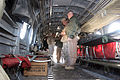 US Navy 060102-M-6018F-036 Chief of Naval Operations (CNO), Adm. Mike Mullen, is briefed on the set up of a CH-46 helicopter.jpg