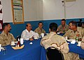 US Navy 080822-N-3560G-064 Secretary of the Navy dines with the new chief selects at Camp Lemonier.jpg