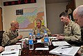 US Navy 100107-N-8273J-315 Chief of Naval Operations (CNO) Adm. Gary Roughead, middle meets with senior leadership in Kabul.jpg