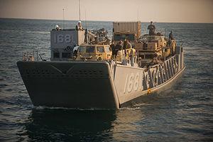 US Navy 111211-N-PB383-919 An assault craft approaches the well deck.jpg