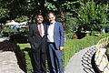 US Senate lobbyist Cary Lee Peterson & Albania Deputy MP Koco Kokedhima 2.jpg