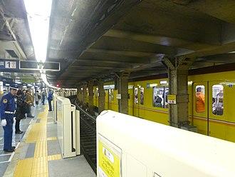 Ueno Station - Ginza Line platforms, 2016