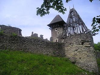 Nevytske Castle - Image: Ukraine.Nevitske.Cas tle 01