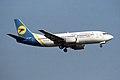Ukraine International Airlines - UIA Boeing 737-35B UR-GAF (34095855936).jpg