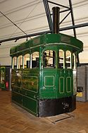 Ulster Transport Museum, Cultra, Belfast and Northern Counties Railway (Portstewart Tramway Company) Locomotive No 2 (A2).jpg