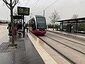 Un tramway arrêt Toison d'Or à Dijon (février 2021) - 3.jpg