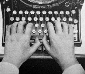 Durante décadas, a máquina de escrever foi símbolo do jornalismo