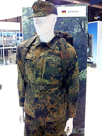 Flecktarn - German Flecktarn uniform in 2015