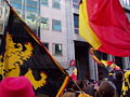 United Belgium Brussels demonstration 20071118 DMisson 00021 Belliard street flags.jpg