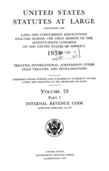 United States Statutes at Large Volume 53 Part 1.djvu