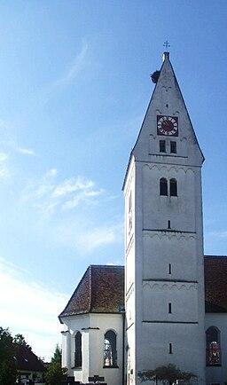 Kath. Pfarrkirche St. Gordian und Epimachus, Unterroth, Landkreis Neu-Ulm