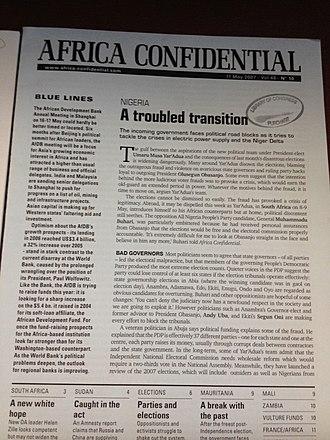 Africa Confidential - Africa Confidential