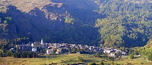 Usseaux - Image: Usseaux da vallone albergian