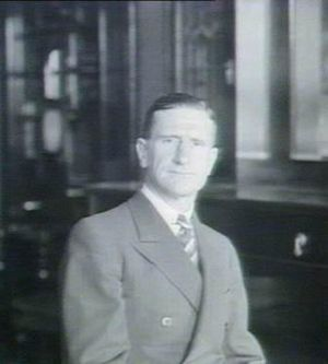 Vernon Treatt - Treatt in his office as Minister for Justice in February 1940.