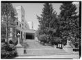 VIEW OF EAST (MAIN) ENTRANCE - West Baden Springs Hotel, State Route 56, West Baden Springs, Orange County, IN HAER IND,59-BADW,1-6.tif