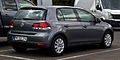 VW Golf 1.2 TSI Move (VI) – Heckansicht, 25. August 2012, Velbert.jpg