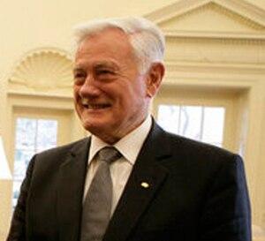 Tautiška giesmė - President Valdas Adamkus