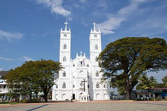 National Shrine Basilica of Our Lady of Ransom, Vallarpadam - Image: Vallarpadom Church