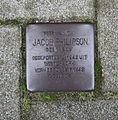 Van der Waalsstraat 34 Leiden Stolperstein.jpg