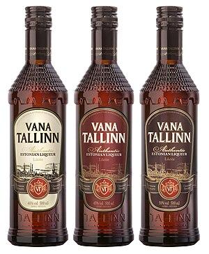 Liqueur - Image: Vana Tallinn 40 45 50 500ml