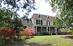 Greenwood, South Carolina - Vance-Maxwell House