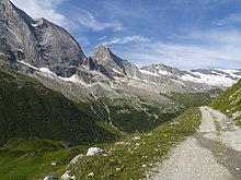 Sentier de randonnée à Champagny-en-Vanoise