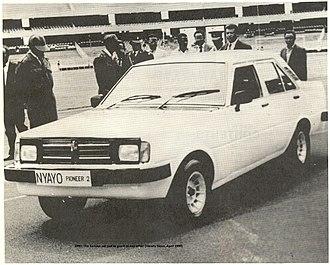 Automotive industry in Kenya - Nyayo Pioneer (1990)