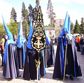 Capirote - Brotherhood with silk capirotes