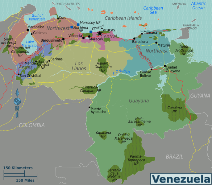 File:Venezuela regions map.png