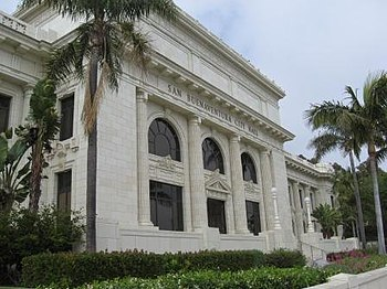 English: Ventura County Courthouse, now the Ci...