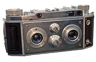 Stereo camera - Vérascope 40