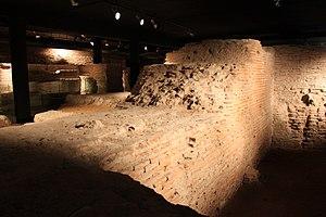 Château Narbonnais - Remains of the Château Narbonnais under the Toulouse courthouse