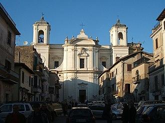 Vicovaro - Image: Vicovaro San Pietro