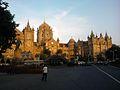 Victoria Terminus (now called Chhatrapati Shivaji Terminus)- Bombay - India.jpg