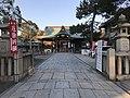 View of Haiden of Watatsumi Shrine.jpg